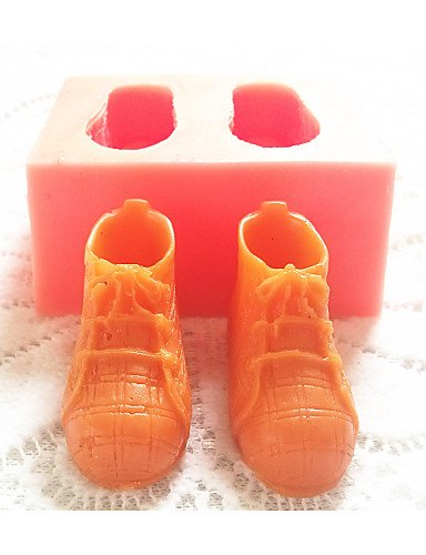 silicone bakeware Zapatillas deportivas para hornear Molde para tarta fondant caramelos de chocolate: Amazon.es: Hogar