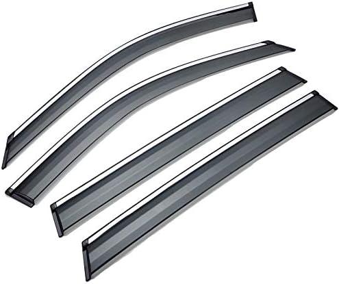 AUTOMOTIVE Deflecteurs dair D/éflecteurs For Hyundai Tucson voiture de coiffure pare-fen/être d/éflecteurs de protection contre la pluie voiture couverture garniture auvent ext/érieur accessoires pi/èce