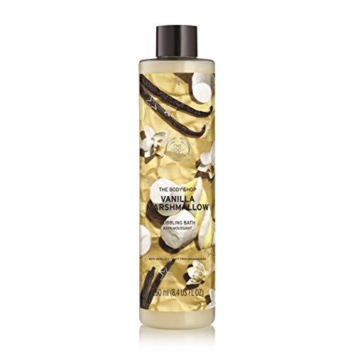 The Body Shop Vanilla Marshmallow Bath Foam, 8.4 Fl Oz