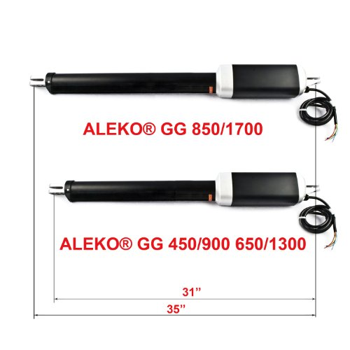 ALEKO GG1700NOR Automatic Dual Swing Gate Opener for Gates up to 26 Feet Long 1700 Pounds by ALEKO (Image #2)