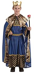 Biblical Times King Of The Kingdom child costume includes cape, robe, and belt. For more than 30 years, Forum Novelties has been a leader in the costume industry, as well as the joke, trick, magic, and novelty gift item business. Forum offers...