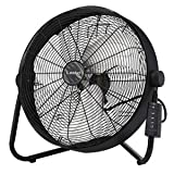 "PC Hardware : Lasko 20"" Remote Control High Velocity Floor / Wallmount Fan"