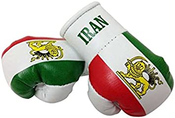 Mini Boxhandschuhe Iran Alt Persien 1 Paar 2 Stück Miniboxhandschuhe Z B Für Auto Innenspiegel Auto