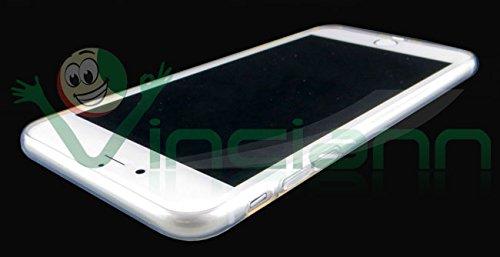 Pellicola+Custodia Gatto Nero cover sottile per iPhone 7 4.7 case trasparente