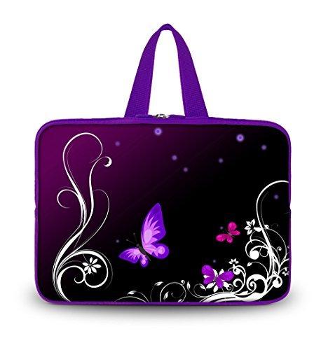 OHS14-001 NEW Purple w/Butterfly 13.7