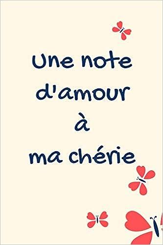 Une note d'amour à ma chérie carde notes: CarDe Note