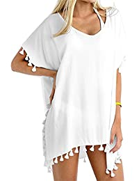 78979e819d8 Women Chiffon Tassel Beach Bathing Swimsuit Cover ups. 13 Trendy Ways to  Coverup ...