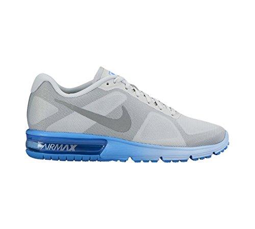 Nike 719916-014, Zapatillas de Trail Running para Mujer Gris (Pure Platinum / Metallic Silver Blue Glow)