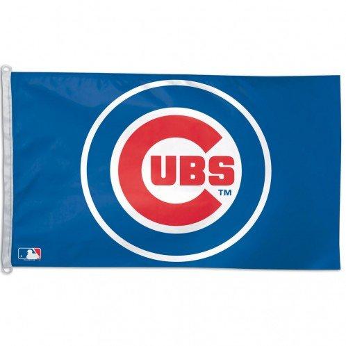 Chicago Cubs MLB 3'x5' Banner Flag