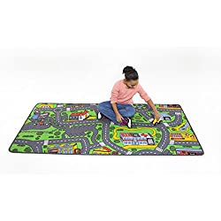 Extra Large Learning Carpets City Life Play Carpet