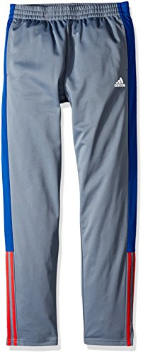 adidas Boys' Striker Pant, Grey/Red/Multi-Colored, XL (18/20) ()