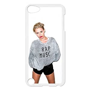 iPod Touch 5 Case White Miley Cyrus ely