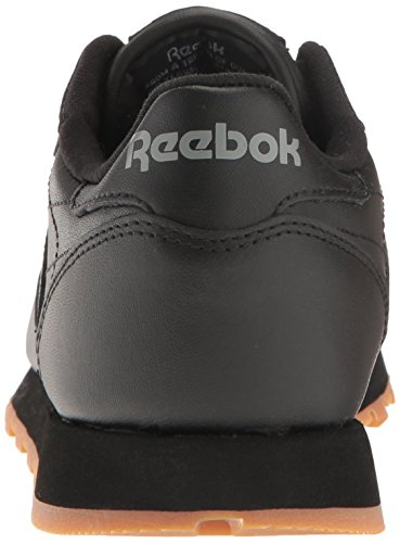 Us black Classic Shoes Classic Leather Women's Reebok Gum YwqBXq
