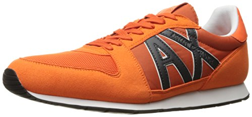 Fashion A Men Running Retro Armani Flame X Exchange Sneaker Sneaker Bpqw1x0prR