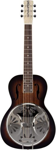 - Gretsch G9230 Bobtail Square-Neck Acoustic-Electric Resonator Guitar - 2 Color Sunburst