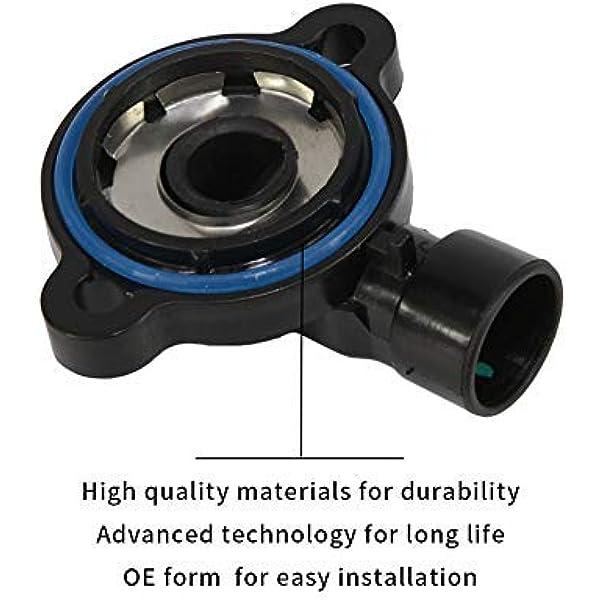 Monland 17106809 TPS Throttle Position Sensor for PONTIAC FIREBIRD SUNFIRE MONTANA GMC C1500 Savana P3500