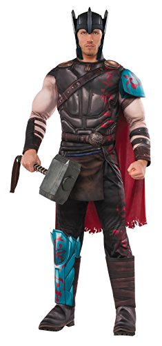 Rubie's Costume Co. Men's Ragnarok Deluxe Gladiator Thor Costume
