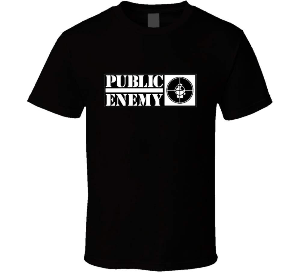 Public Enemy Hip Hop Vintage Retro Classic Rap Group T Shirt 3122