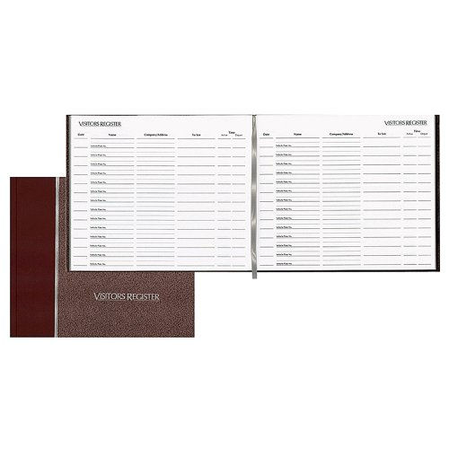 visitors register book - 2