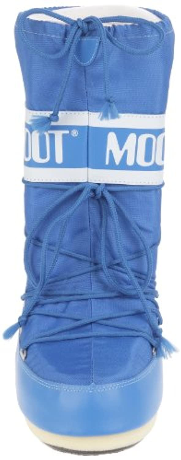 Moon Boot Nylon, Unisex Adults' Boots, Azzurro, 12-14 UK Child (31-34 EU)