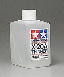 Tamiya Super Large Bottle Acrylic Paint, X-20A Thinner from Tamiya