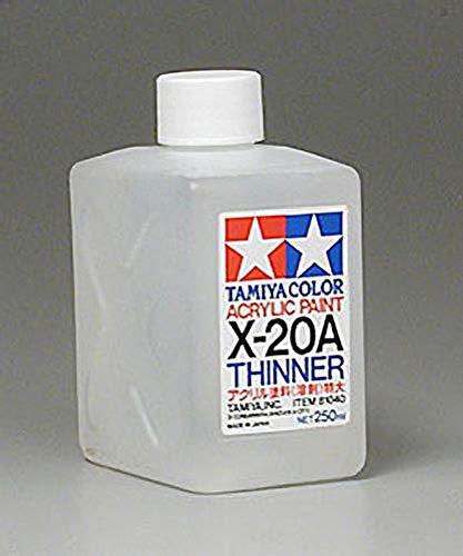 ottle Acrylic Paint, X-20A Thinner ()