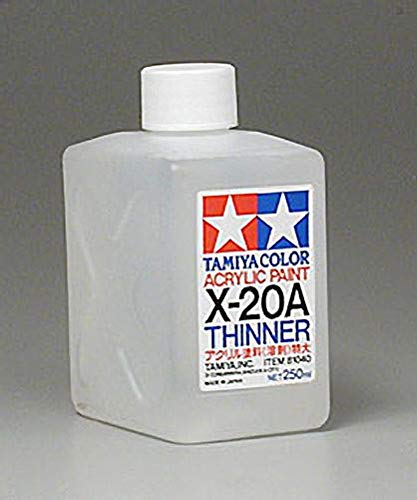 X-20A Diluant Acrylique XL 250ml Tamiya