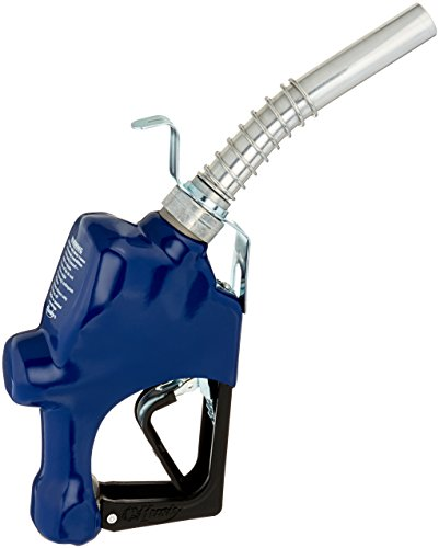 Husky 045707-01 New 1GS Light Duty Diesel Nozzle with Full Grip Guard, Blue Hand Guard and Hanging Hook, 1