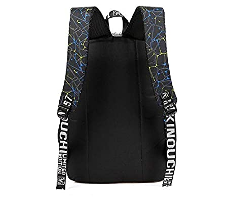 Amazon.com : JJSSGJBB Student backpack 3 pcs/sets Canvas School Bag Fashion School Backpack for Teenagers Girls schoolbags kid backpacks mochila escolar ...