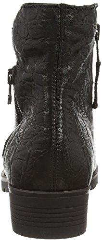 Mjus 58420 - botas de caño bajo de piel mujer negro - negro