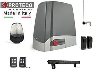 Kit completo profesional motor puerta corredera PROTECO MEKO 8 + ...