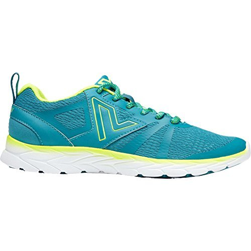 Womens Brisk Miles Lace Up Sneaker Teal / Yellow Size 9