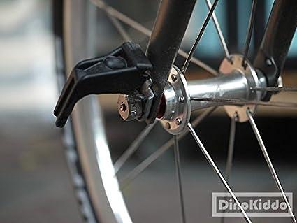 De noviembre de s-short E-Type gancho unidad de titanio Set para Brompton Bicicleta Plegable - Dino Kiddo: Amazon.es: Deportes y aire libre