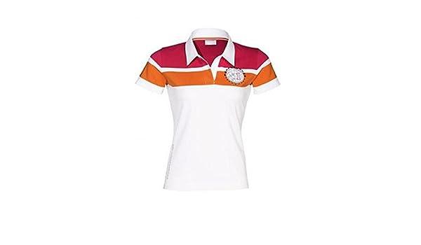 Porsche Design Damas Conductores Colección Polo Camisa S: Amazon ...