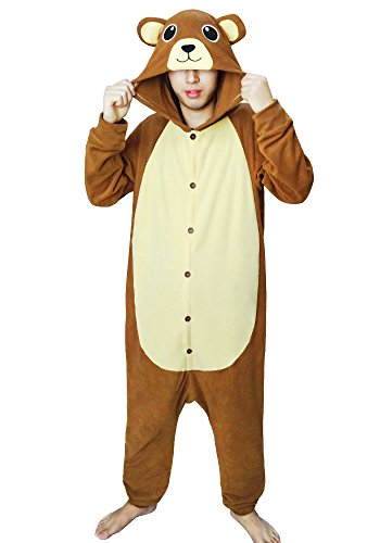 (FORLADY Adult Cosplay Costumes Animal Brown Bear)