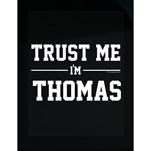 Prints Express Trust Me Im Thomas Idea for Friends - Sticker
