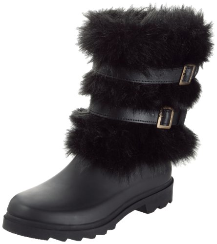 Demi Botte Women's Black Boots Movable Only Be Fq8zz