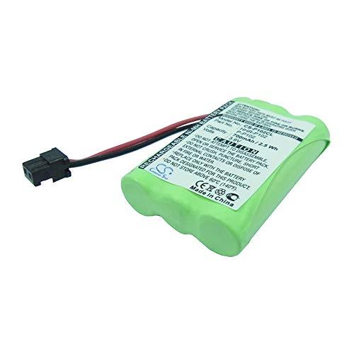 Panasonic Uniden Radio Shack - Replacement Battery for GP GP60AAAH3BMS Radio Shack 23-961 43-3529 43-3538 43-3553 43-3554 43-3815 UNIDEN BT1001 BT1004 BT909 Part NO BBTY0483001 BBTY0507001 HHR-P102 P-P102 Type 22
