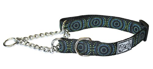 RC Pets Products 1-Inch Pets Training Martingale Collar, Large, 14 by 20-Inch, Bull's Eye, My Pet Supplies