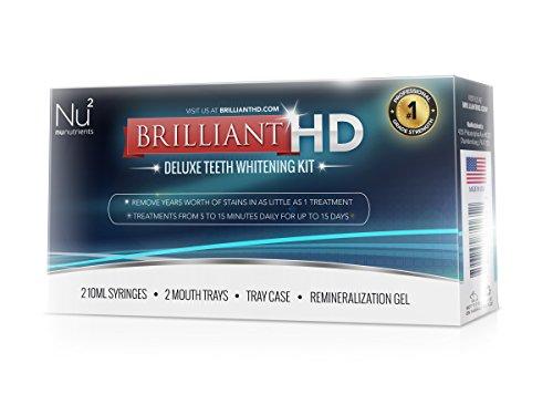Hd Brillant - PRO - Kit de blanchiment des dents - Amélioration de Gouttières