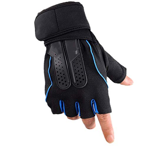 Lwj Tactical Sports Fitness Weight Lifting Gym Gloves Training Fitness Bodybuilding Workout Wrist Wrap Exercise Glove for Men Women