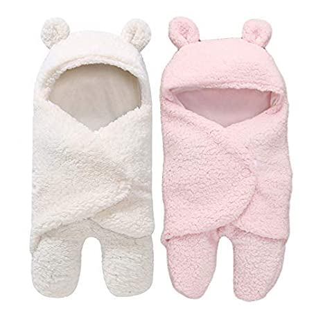 My NewBorn 3 in 1 Baby Blanket Pack of 2