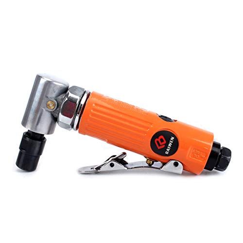 1/4inch 90 Degree Air Angle Die Grinder With 1/4'' and 1/8'' Clollets