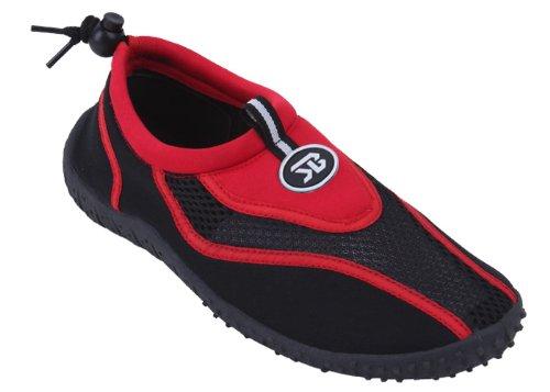 Starbay Womens Water Shoe Aqua Sock, Red 37358-8B(M) US from Starbay