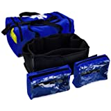 Primacare KB-4135-B First Responder Bag, 21-Inch Length X 12-Inch Width X 9-Inch Height, Blue