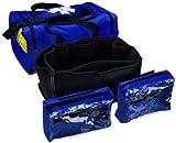 Primacare KB-4135-B First Responder Bag, 9'' Height x 21'' Width x 12'' Depth, Blue