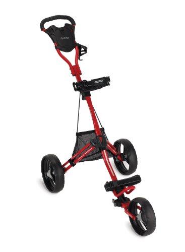 Bag Boy Express DLX Push Cart, Red