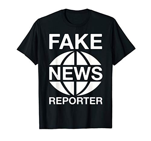 Fake News Reporter Funny Costume T