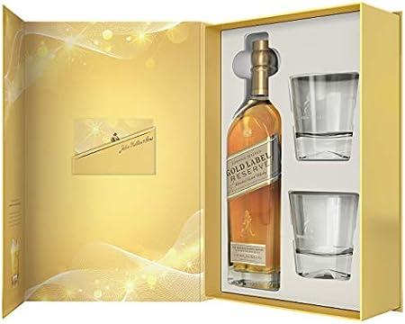 Johnnie Walker - Gold Label Reserve & Glasses Gift Box - Whisky
