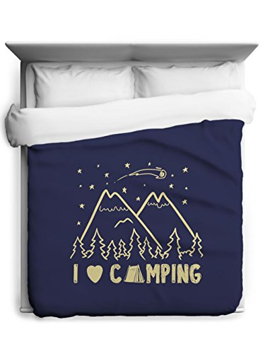 I Love Camping Duvet Cover made our list of Inspirational And Funny Camping Quotes